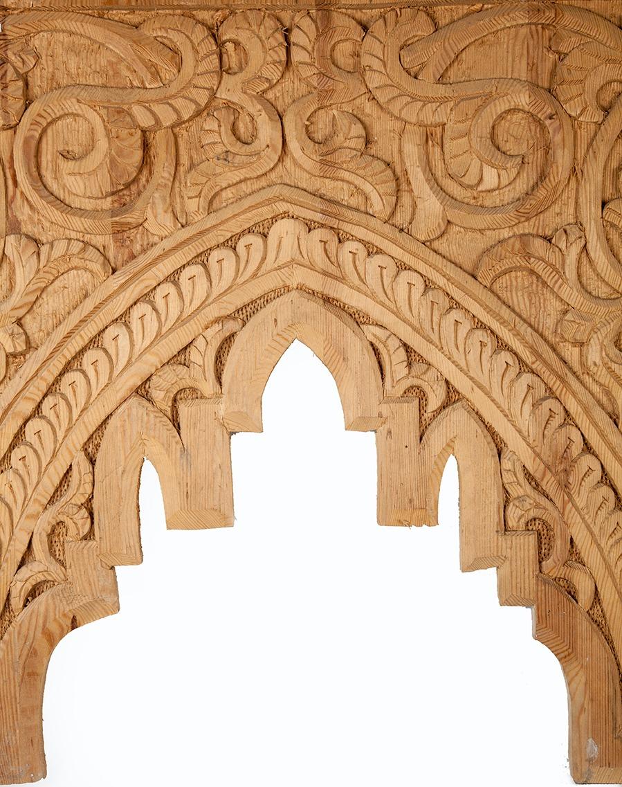 Arco de madera mud jar artesanos juntos - Maderas para arcos ...