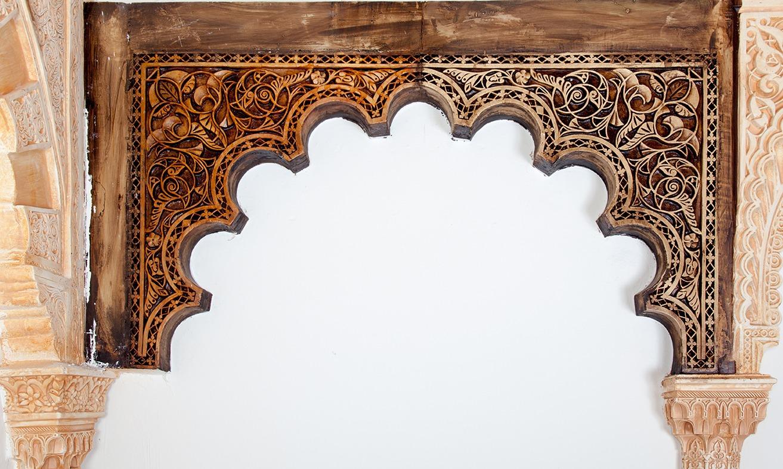 Arcos de escayola mud jar artesanos juntos - Arcos decorativos para puertas ...