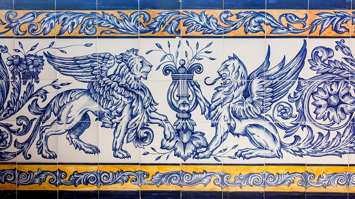 Azulejos mud jar artesanos juntos - Zocalos de azulejos ...