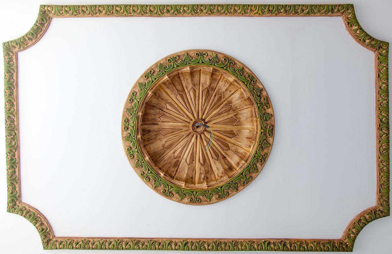Conjunto de enmarcado para el techo   Mudéjar Artesanos Juntos