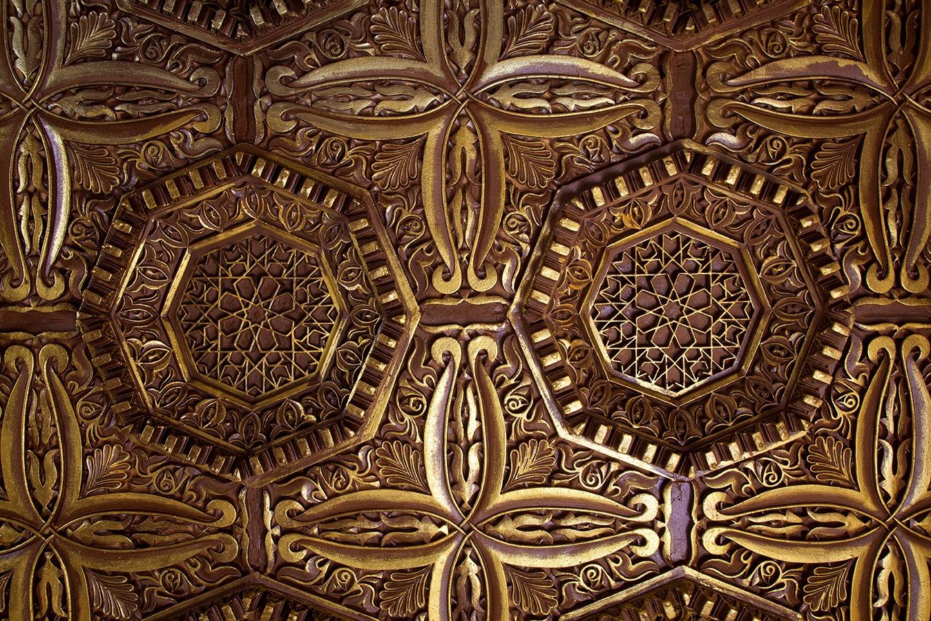 Techo mezquita rabe mud jar artesanos juntos - Escayola decorativa techo ...