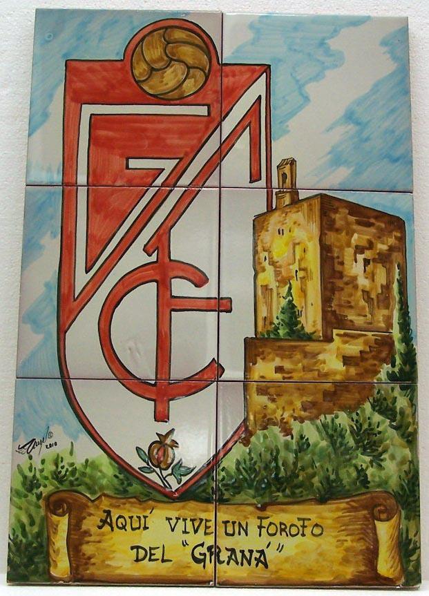 Escudos Granada Club de Ftbol  Mudjar Artesanos Juntos