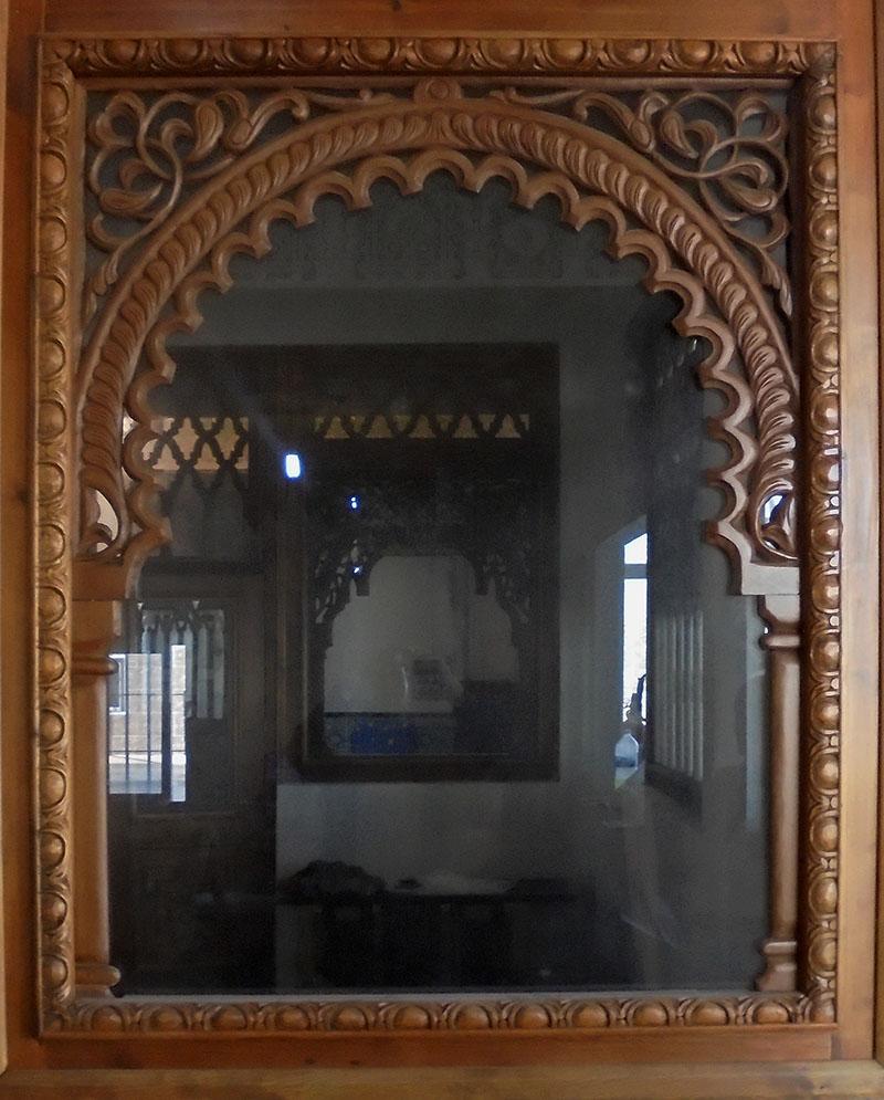 Arcos de madera para puertas top pasillo blanco de piso for Arcos de madera para puertas